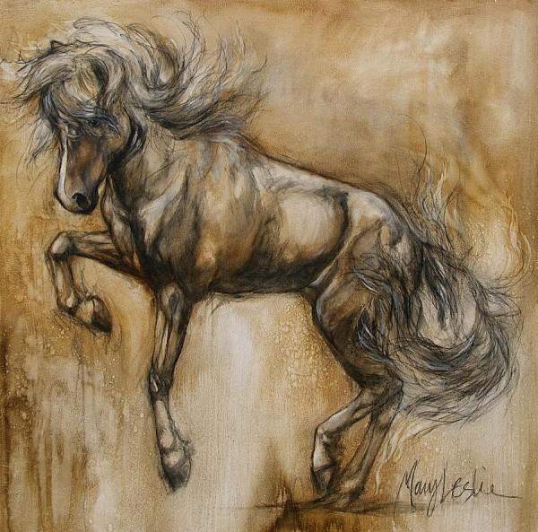 Kunst-auf-Island-Bild-Islandpferd-HGG