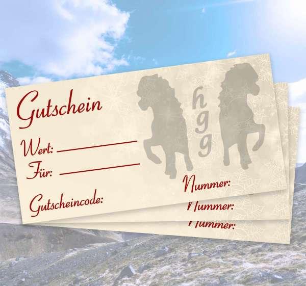 Geschenk-Gutschein (Betrag frei wählbar)
